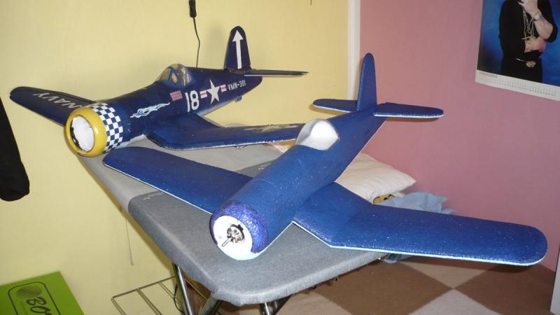 F4U Corsair 850mm