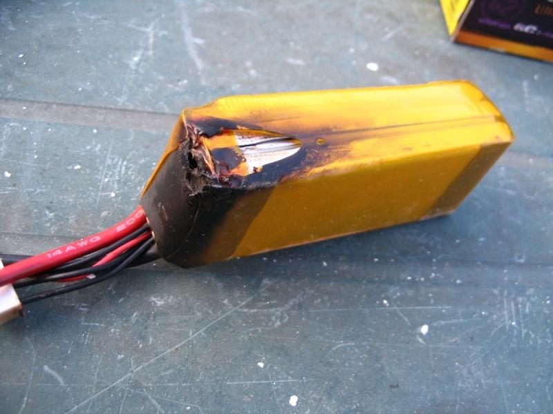 TORO 900 - vyhořelé