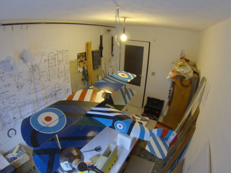 Sopwith Camel - Coombes colour scheme