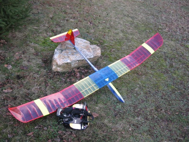 RONY II model Res - větroň