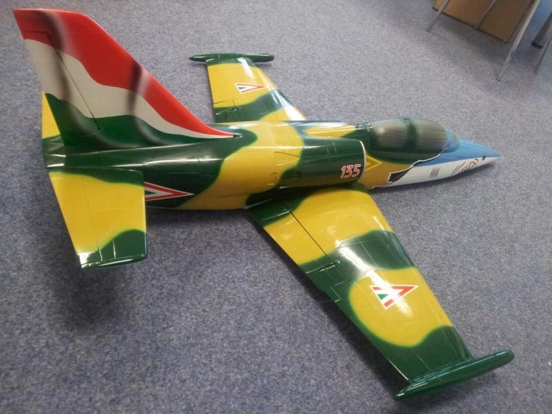 L 39 od Savexu na JetCat P20SX