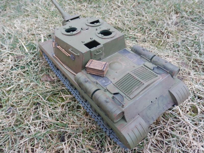 ISU-152 bl-10 a T-34 85