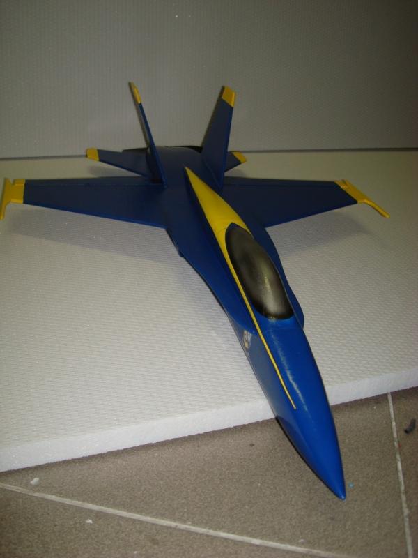 micro F-18 Hornet BLUE ANGELS